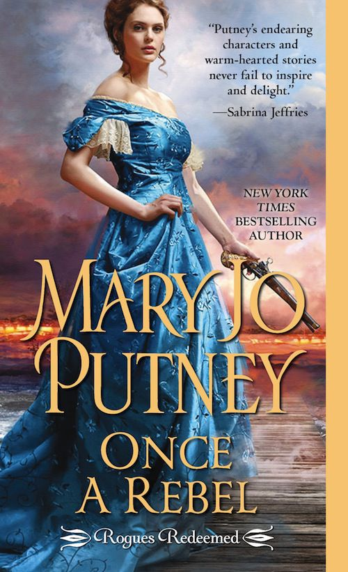 cover of Once a Rebel by Mary Jo Putney