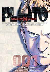 Pluto volume 1 cover - Naoki Urasawa