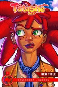 Tatashe comic Book Cover