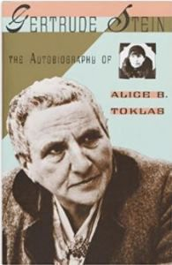 The Autobiography of Alice B Toklas Gertrude Stein cover
