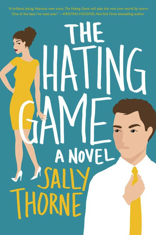 cover of The Hating Game by Sally Thorne