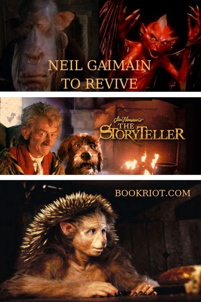 Neil Gaiman to revive JIM HENSON'S THE STORYTELLER