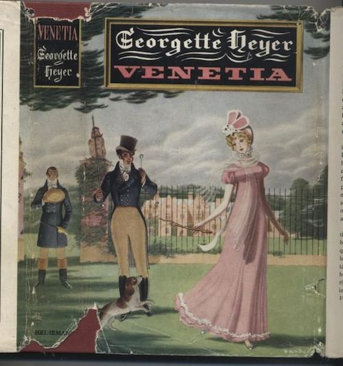 cover of Venetia by Georgette Heyer