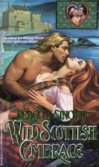 cover of Wild Scottish Embrace by Rebecca Sinclair