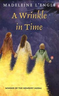 A Wrinkle in Time by Madeline L'Engle book cover - classic