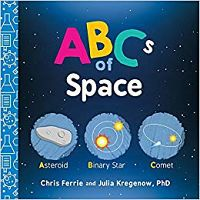 Cover of ABCs of Space by Chris Ferrie