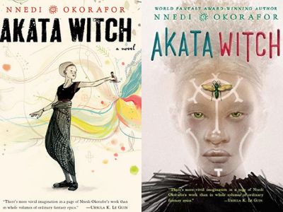 Akata Witch by Nnedi Okorafor Covers from 10 Gorgeous Cover Redesigns | bookriot.com