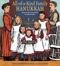 All of A Kind Family Hanukkah Book Cover