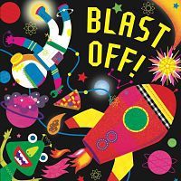 Cover of Blast Off by Hunter Reid