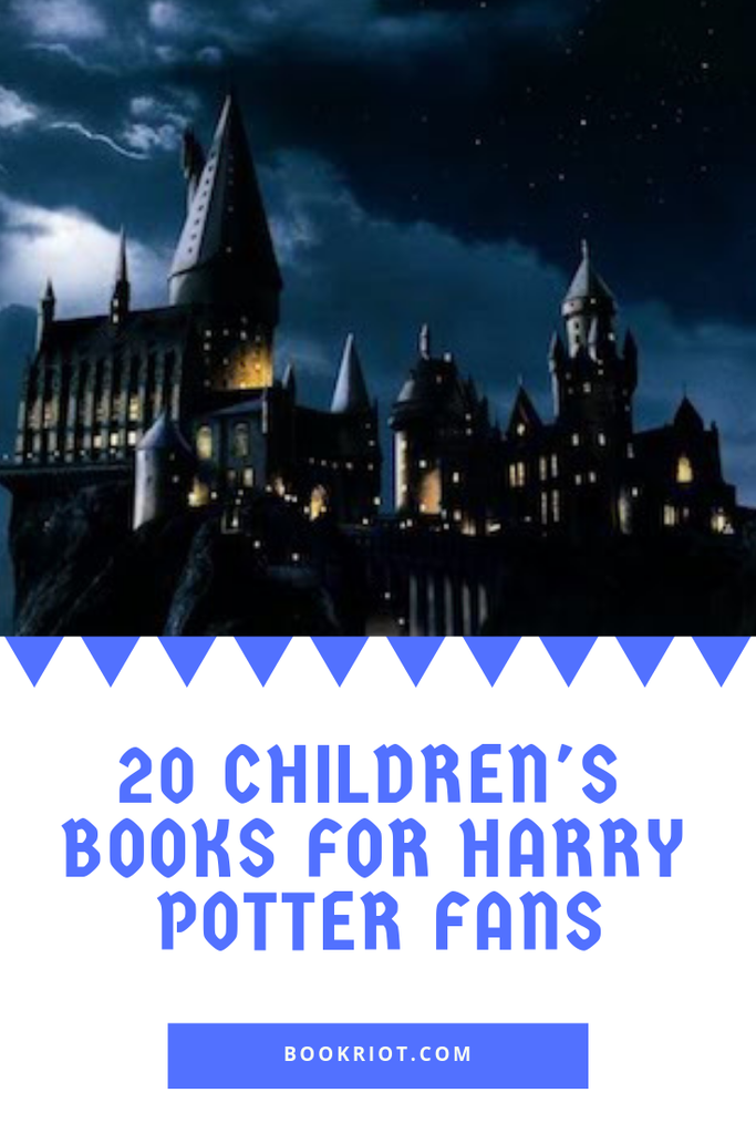 Know a young reader who cannot get enough Harry Potter? Try these 20 children's books for Harry Potter fans. book lists | children's book lists | Books for Harry Potter fans | Harry Potter readalikes | fantasy books | fantasy books for kids