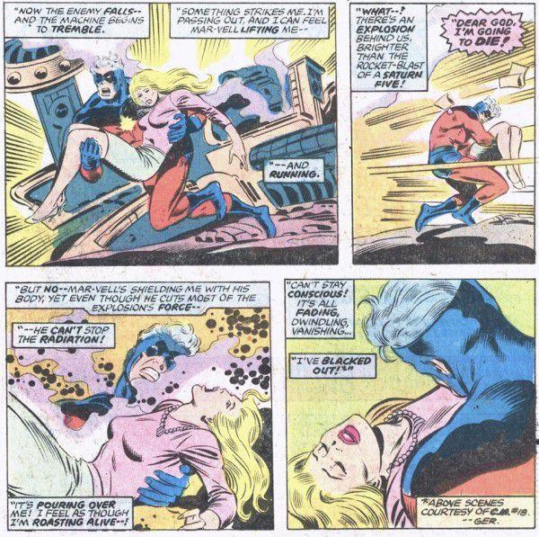 Captain Marvel origin story