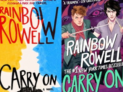 Carry On by Rainbow Rowell Covers from 10 Gorgeous Cover Redesigns | bookriot.com