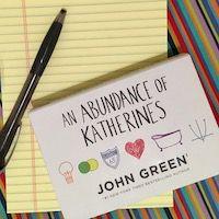 An Abundance of Katherines by John Green Dwarsligger