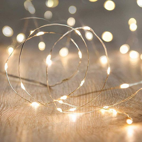tangle of fairy lights