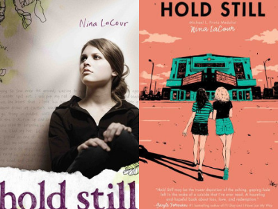 Hold Still by Nina LaCour Covers from 10 Gorgeous Cover Redesigns | bookriot.com