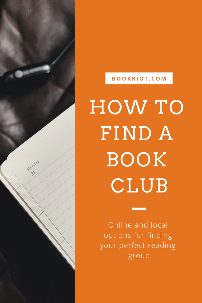 How to find a book club, whether you want to find an online book club or a book club near you in person. We can help you out! how to find a book club | book clubs | online book clubs | in person book clubs | find a local book club
