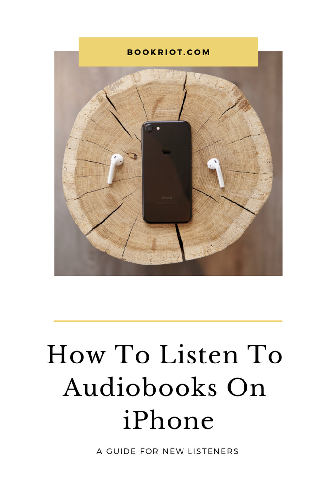 How to listen to audiobooks on iphone: A guide for new listeners. audiobooks | audiobook how tos | audiobook listening | audiobook hacks | how to listen to audiobooks on iphone