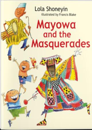 mayowa and the masquerades book cover