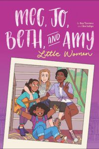 Meg, Jo, Beth, and Amy from 2019 LGBTQ Comics and Graphic Novels | bookriot.com