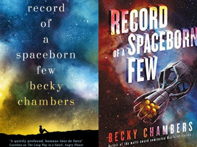 Record of a Spaceborn Few by Becky Chambers Covers from 10 Gorgeous Cover Redesigns | bookriot.com