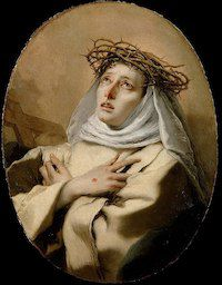 St. Catherine of Siena by Giovanni Battista Tiepolo