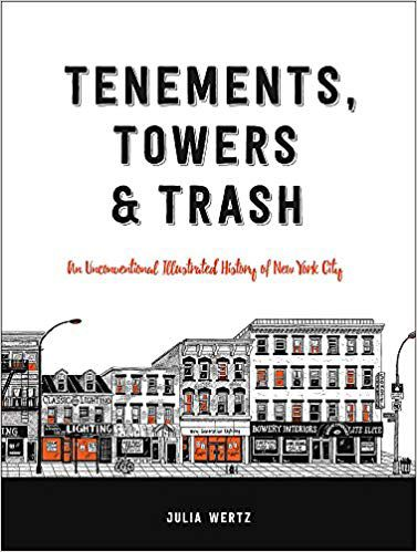 Tenements, Towers, and Trash book cover