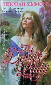 The Devil's Lady by Deborah Simmons cover