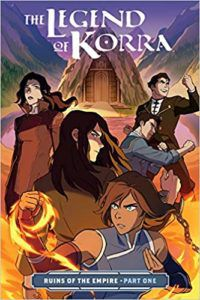 The Legend of Korra from 2019 LGBTQ Comics and Graphic Novels | bookriot.com