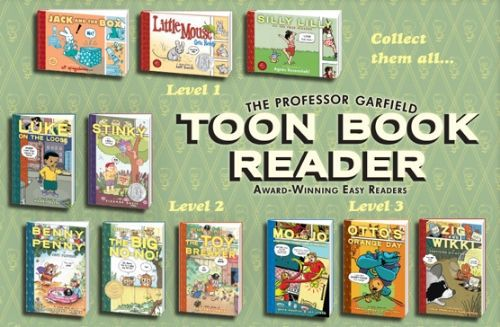 toon book reader book selection page