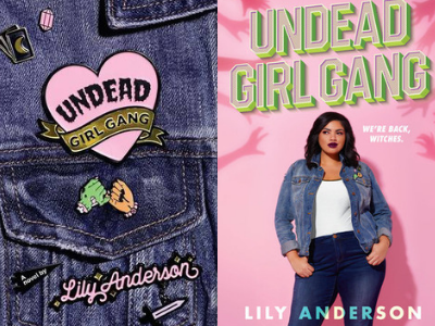 Undead Girl Gang Covers from 10 Gorgeous Cover Redesigns | bookriot.com