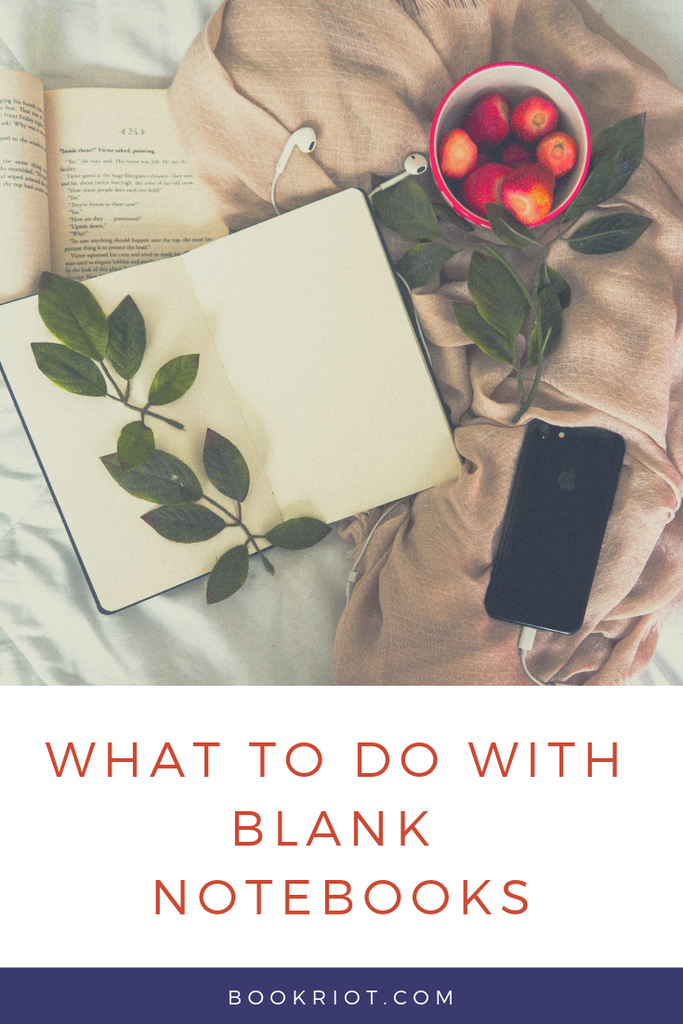 Have a pile of blank notebooks hanging around? Here's what to do with those blank notebooks. notebooks | what to do with notebooks | journaling