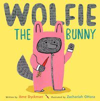 Wolfie the Bunny by Americano Dyckman book cover