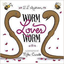 worm loves worm J.J. Austrian and Mike Curato sydney mardi gras
