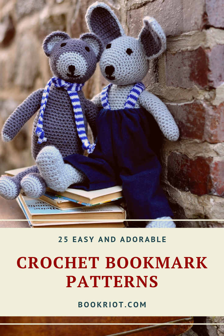 25 Easy and Adorable Crochet Bookmark Patterns