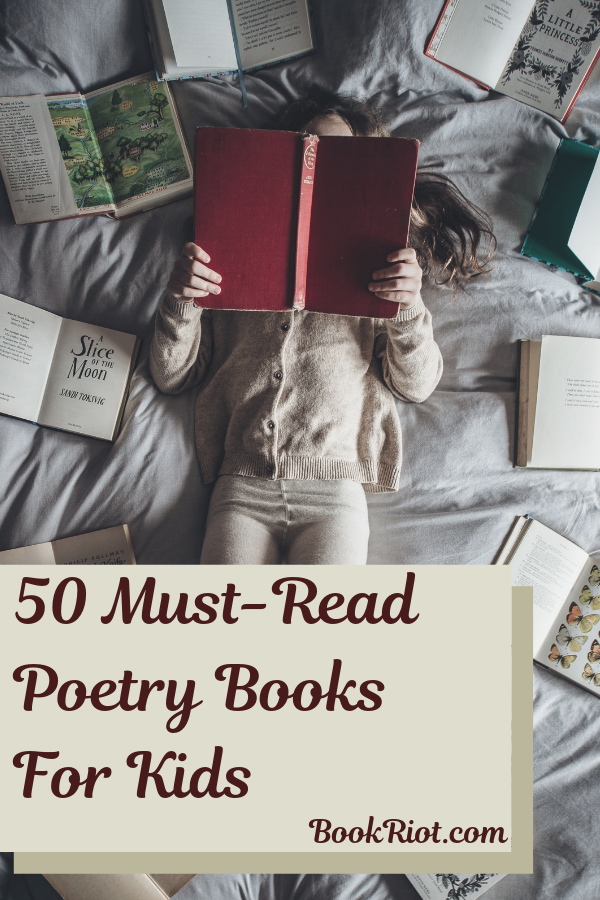 50 Must-Read Poetry Books for Kids
