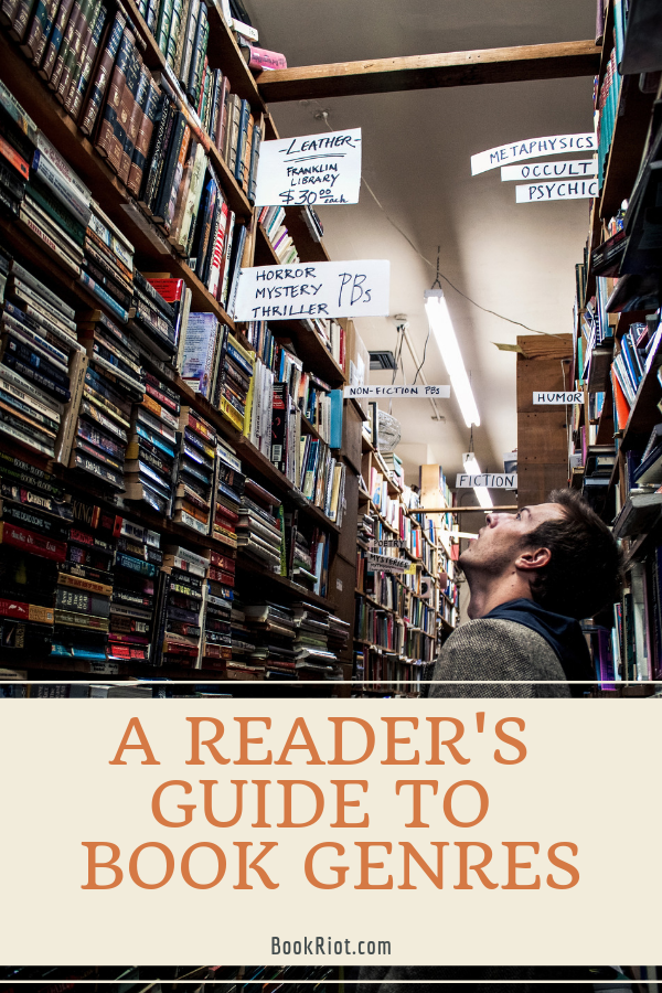 A Reader's Guide to Book Genres