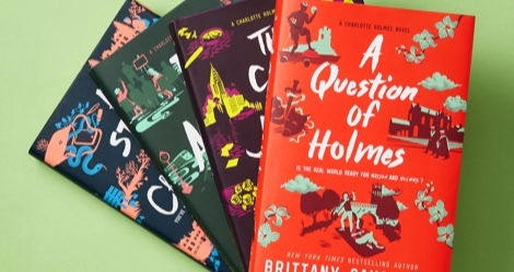 Giveaway: Charlotte Holmes Series