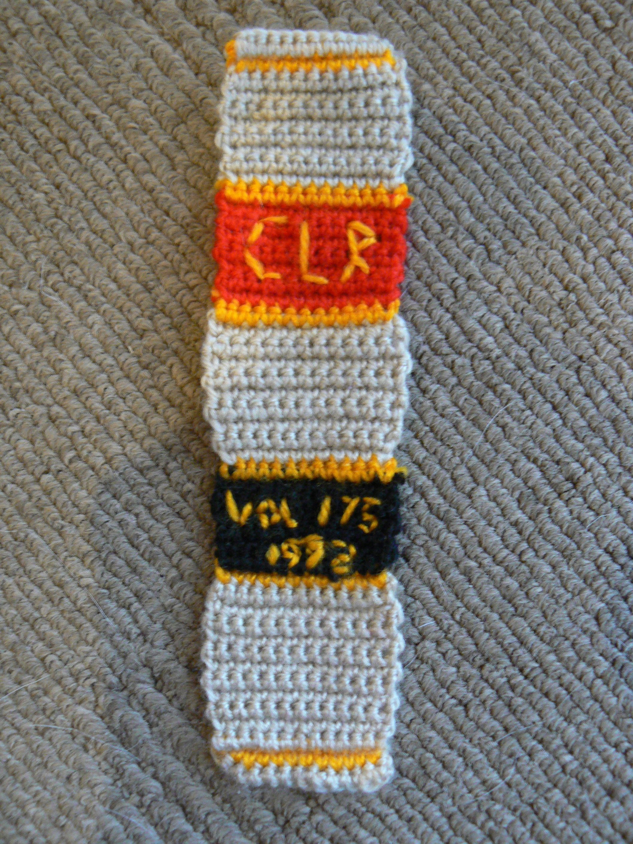 Crochet Commonwealth Law Report Bookmark from Jazmo Crochet
