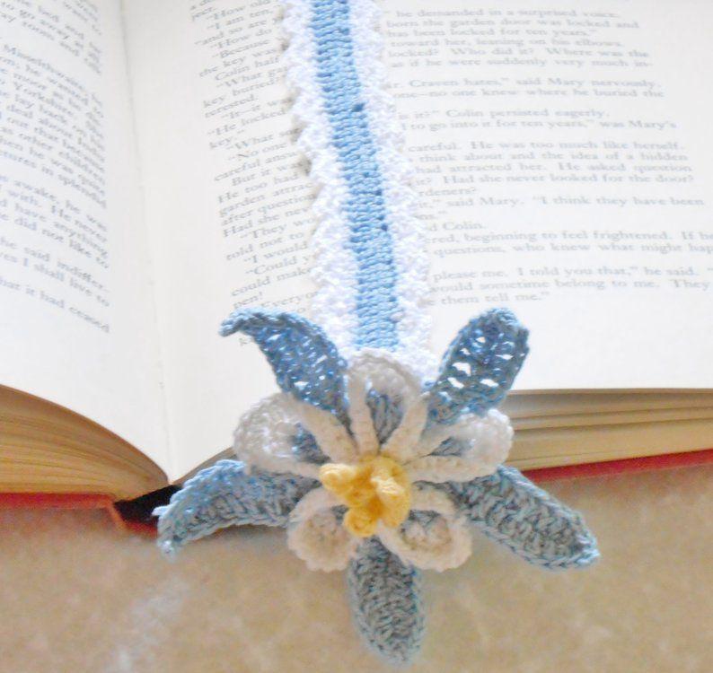 Crochet Columbine Bookmark Anderson's Creations