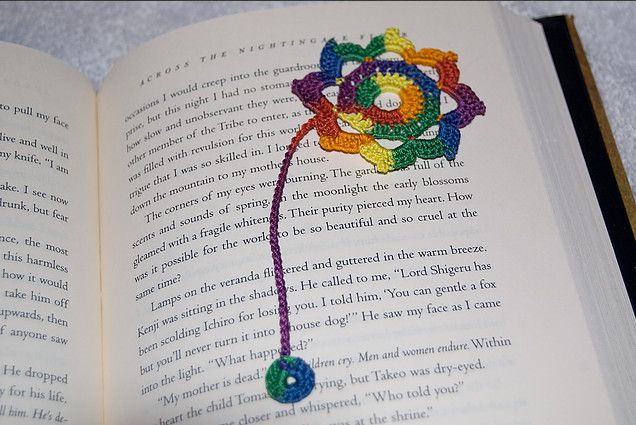 Crochet Octagonal Flower from NoobCraft