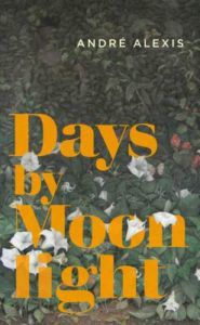 Days by Moonlight cover - dark background with white flowers