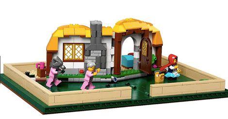 Lego Fairy Tale Pop-Up Book