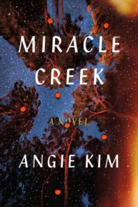 Miracle Creek cover - forest trees against night sky