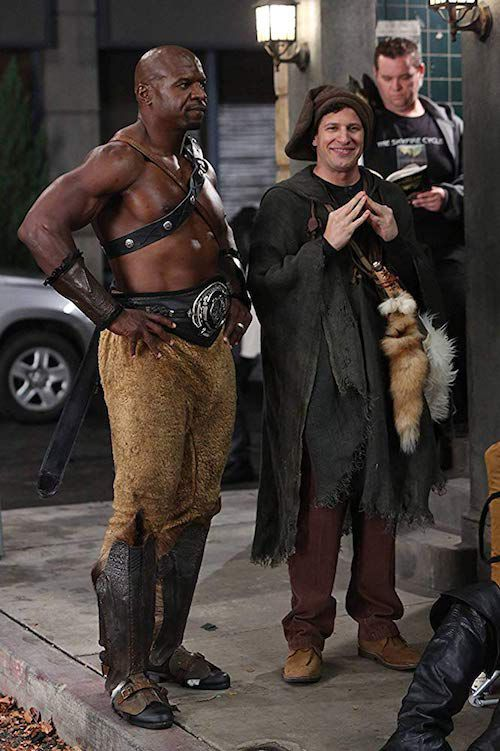 image of Terry Crews and Andy Samberg in Brooklyn Nine-Nine