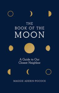 The Book of the Moon cover - black with moon phases
