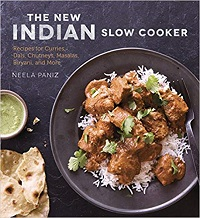 The New Indian Slow Cooker by Neela Paniz cover