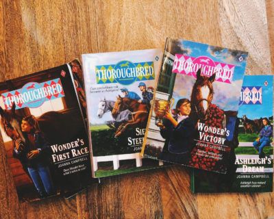 Thoroughbred series by Joanna Campbell