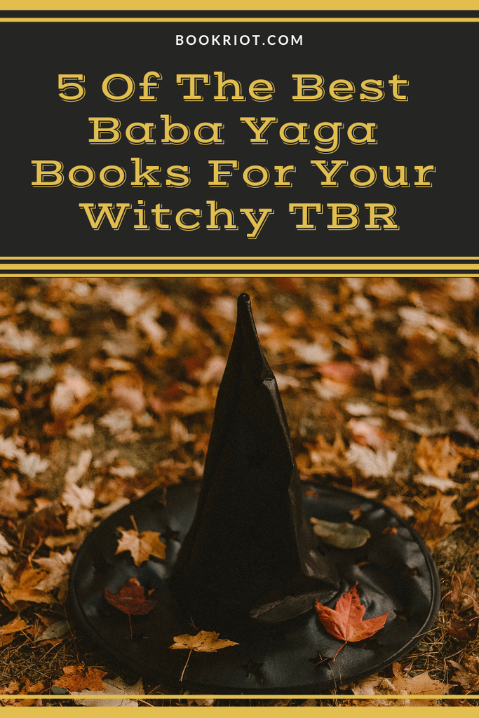 Love witchy reads? Love Baba Yaga? You'll want to read these books. book lists | spooky books | baba yaga | folk tale books | baba yaga books