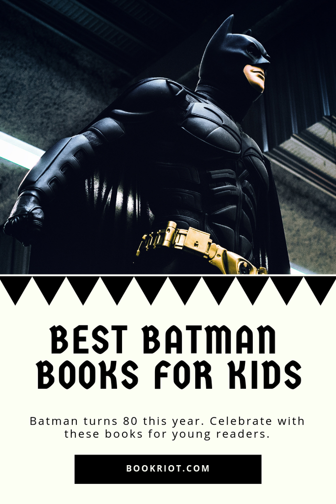 The best Batman books for kids. Dig in and celebrate the superhero! book lists | comic books | comic books for kids | batman books | best batman books | best batman books for kids