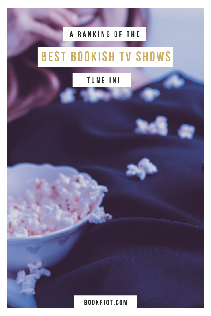 Curious about the best bookish TV shows? We've got the definitive ranking. Agree? Disagree? bookish tv | books in pop culture | literary TV
